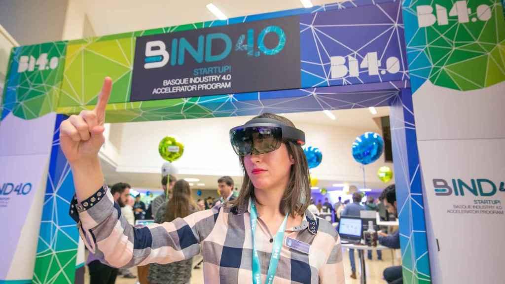 En BIND 4.0 se dan cita multitud de soluciones tecnológicas cada año. FOTO: BIND 4.0.
