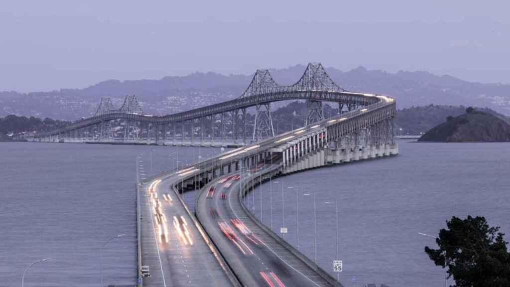 Puente San Rafael, en Richmond (California), que va a reparar Flatiron (ACS).