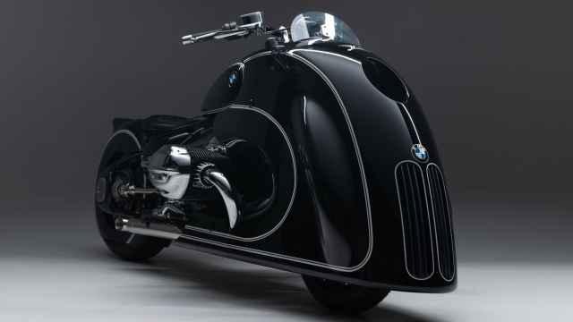 Esta es la moto más llamativa que BMW ha creado hasta la fecha