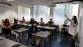 El Gobierno portugués ha tenido que cerrar los colegios ante el avance de la pandemia.