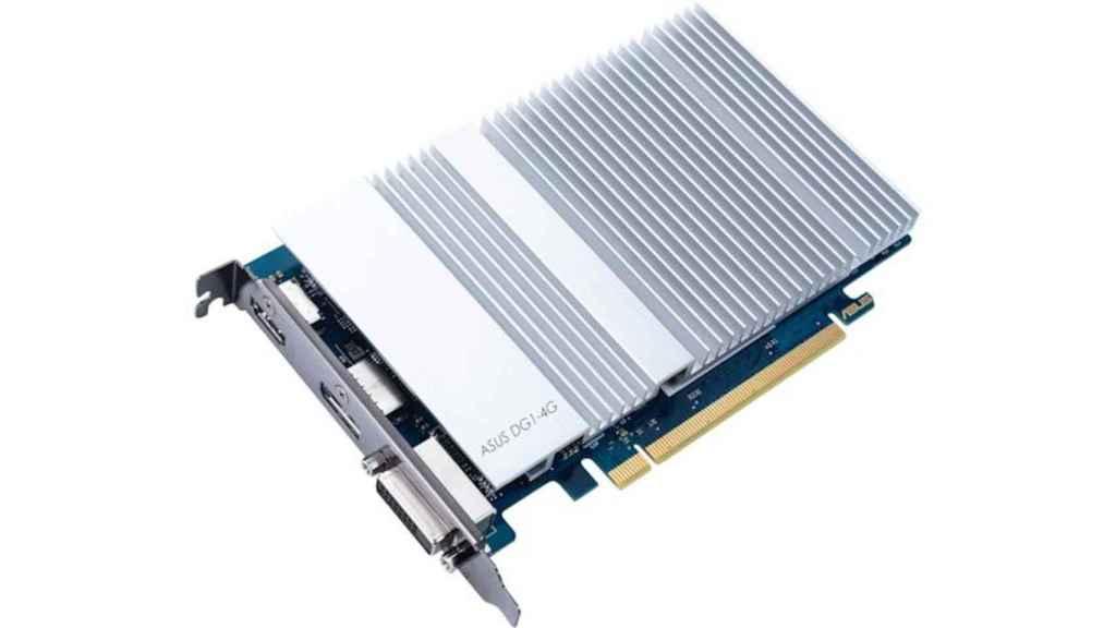 La tarjeta gráfica de Asus basada en el chip de Intel