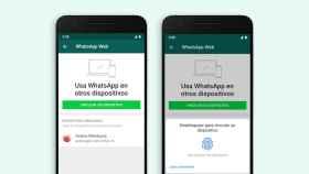Desbloqueo de WhatsApp para escritorio usando la huella dactilar