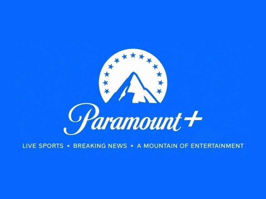 Logo de Paramount+ en 2021.
