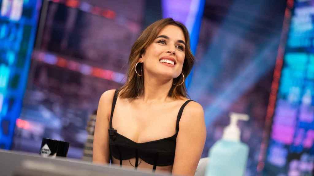 Adriana Ugarte en 'El Hormiguero'.
