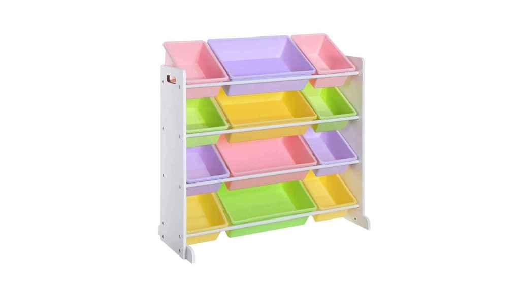 Organizador con 12 cajas