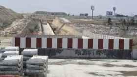 Imagen de archivo de las obras para extender la red de Cercanías entre Móstoles y Navalcarnero.