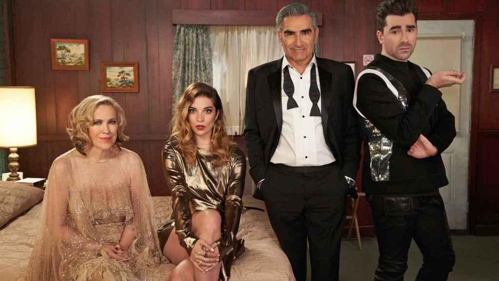 'Schitt's Creek' ganó los 7 Emmys más importantes en septiembre, un hito en los premios.
