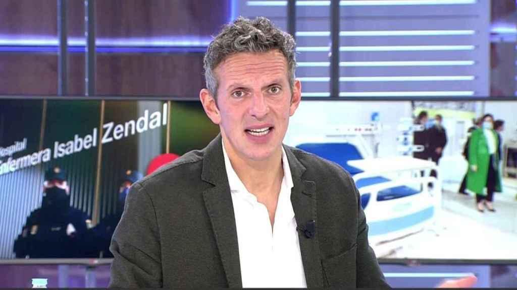 Joaquín Prat ha hecho balance de su experiencia al frente de 'Cuatro al día'.