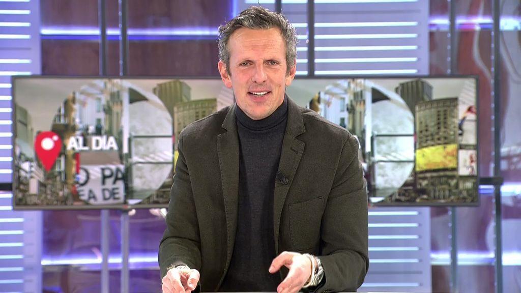 Joaquín Prat está al frente de 'Cuatro al día' desde el 25 de noviembre de 2019.