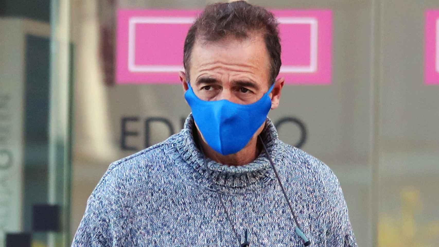 Alessandro Lequio por las calles de Madrid el pasado 16 de octubre.