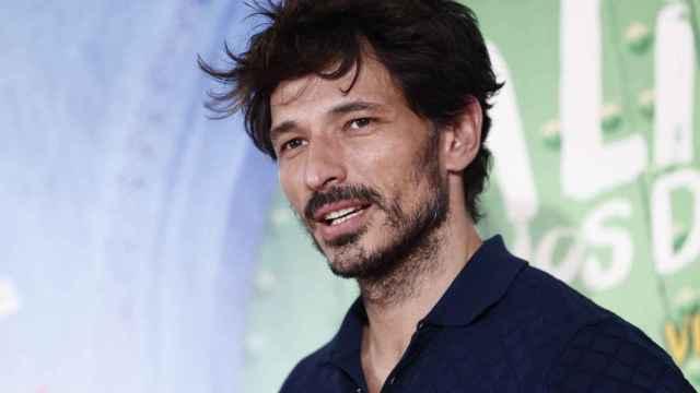 Andrés Velencoso en un evento en Madrid en 2020.