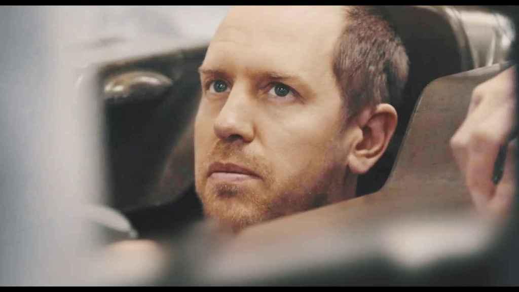 Sebastian Vettel y su nuevo look