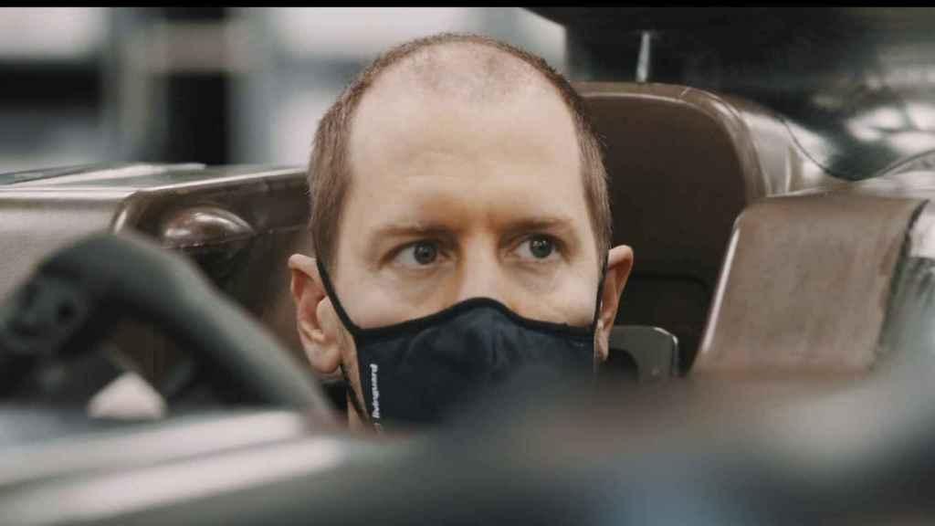 Sebastian Vettel y su nueva imagen