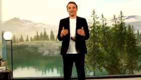 Christian Klein, CEO de SAP, durante la presentación de 'Rise with SAP'