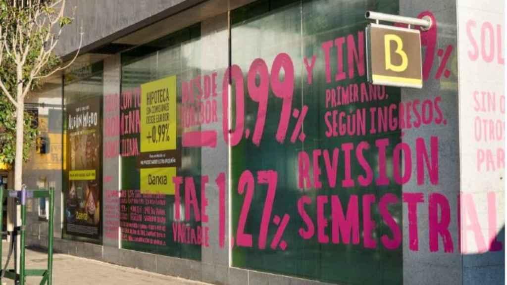 Bankia ya firma un 67% de sus hipotecas a tipo fijo.