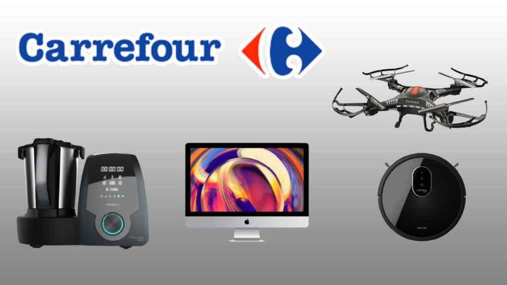 Los mejores chollos en electrónica de Carrefour.