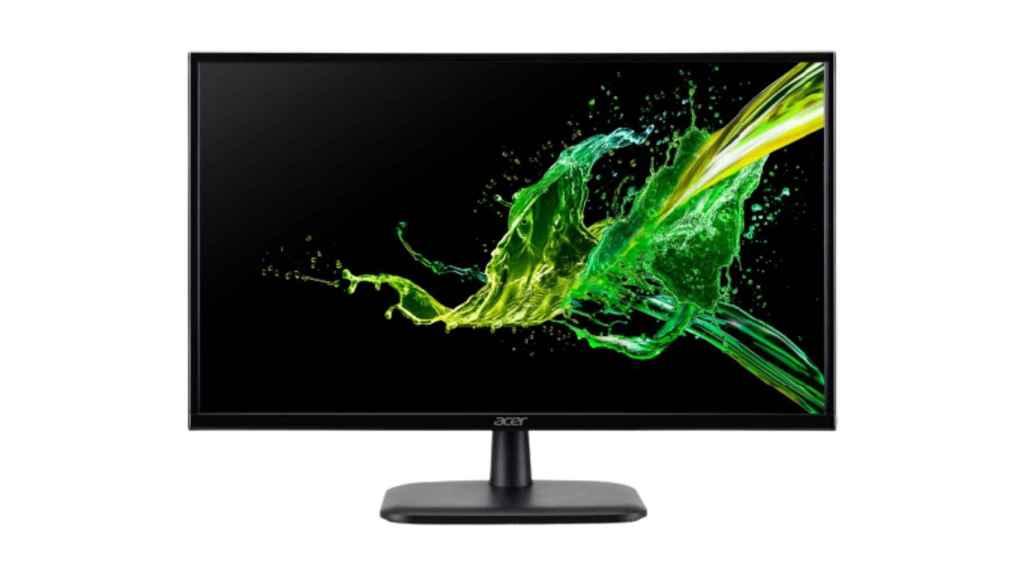Este monitor Acer se encuentra entre los chollos de Carrefour.