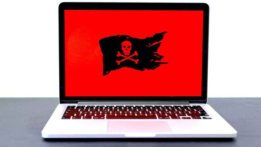 Malware en un MacBook.