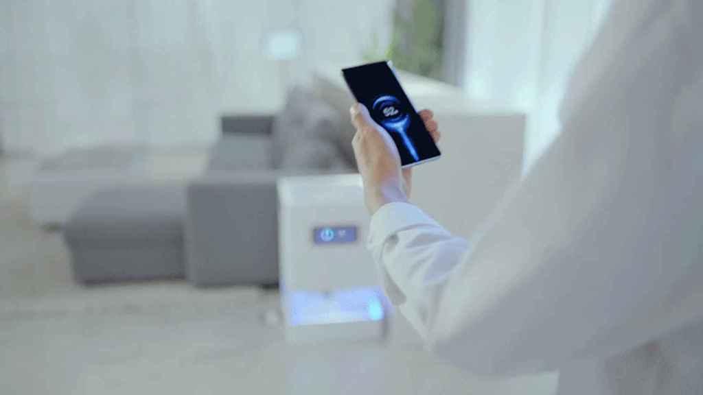 Frame de un GIF en el que se muestra esta tecnología.