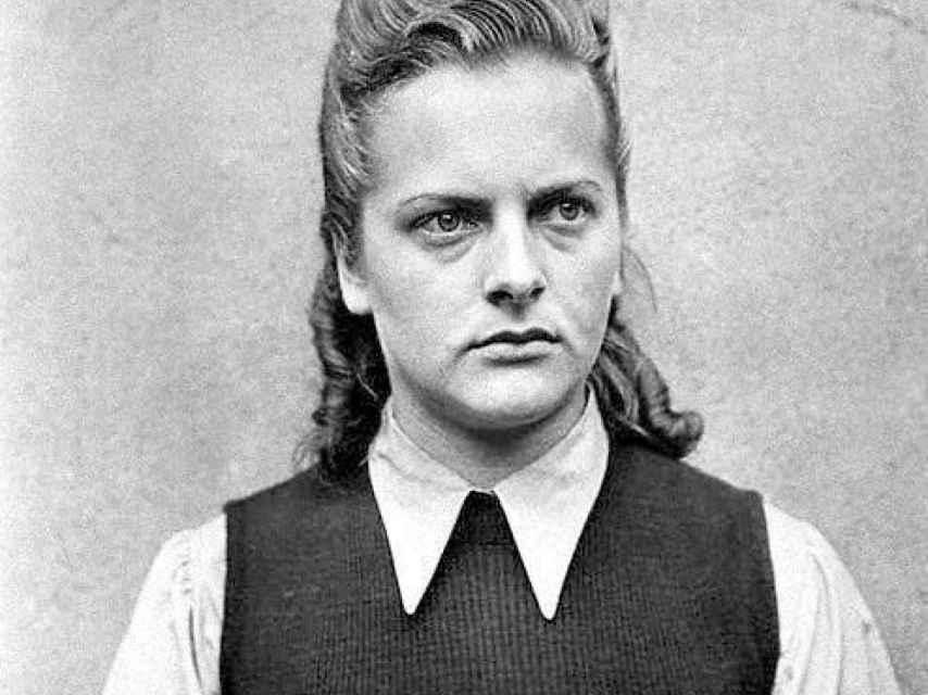 Irma Grese, en una fotografía tomada durante su juicio.