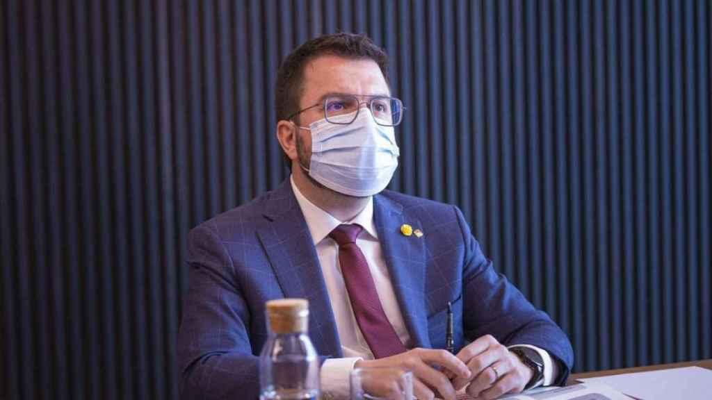 Pere Aragonès, candidato de ERC.