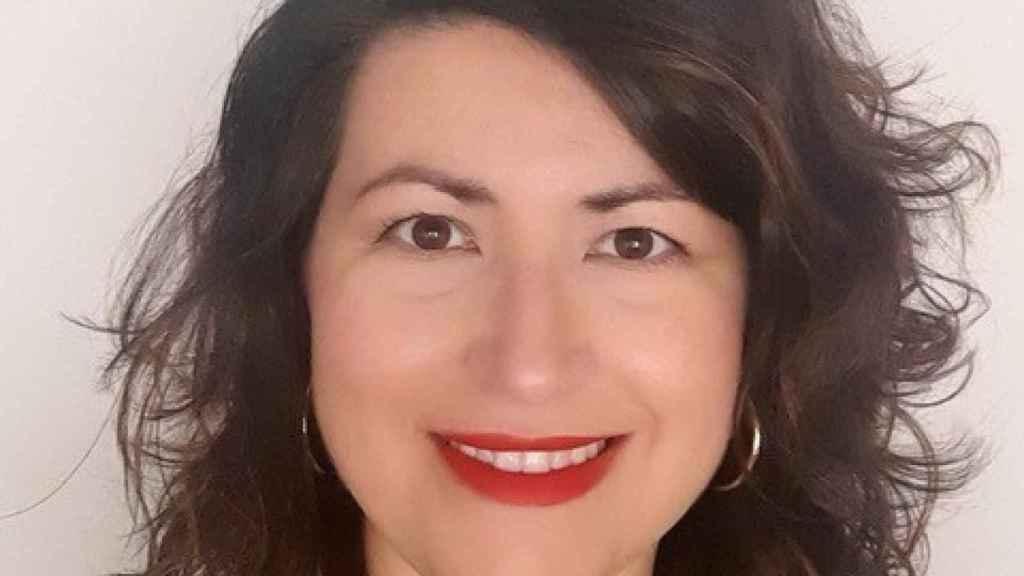 La directora general de Relaciones Institucionales de Voi en España, Noemí Moya.