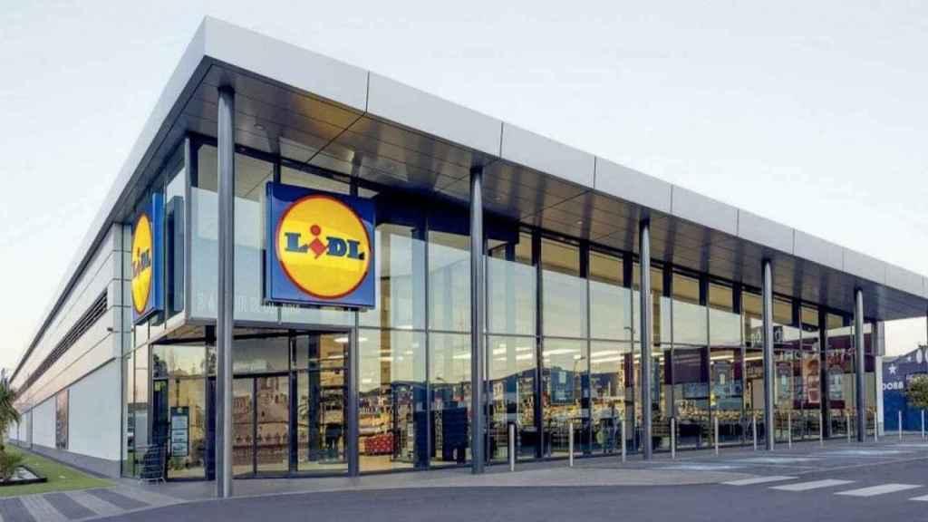 Una de las más de 600 tiendas que Lidl tiene en España.