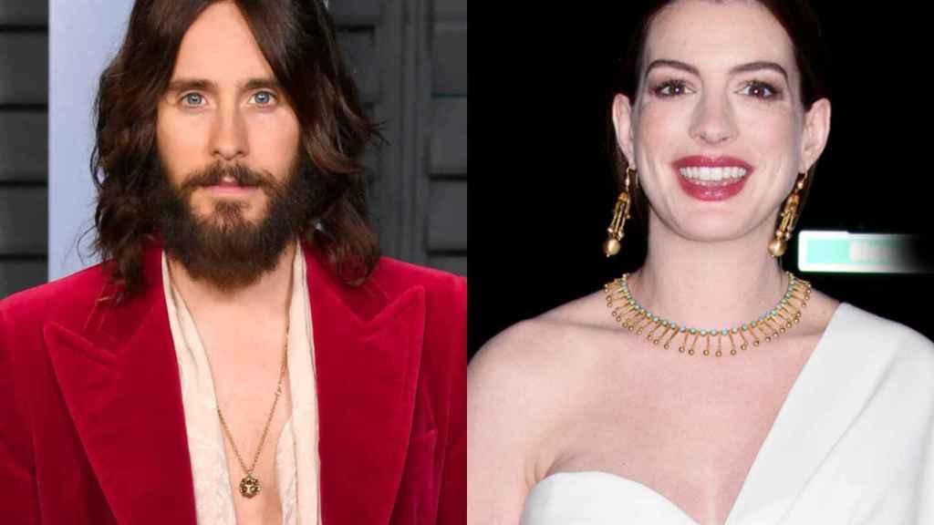 Jared Leto y Anne Hathaway serán las próximas estrellas de Apple TV+.
