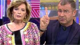 María Teresa Campos y Jorge Javier Vázquez en montaje de BLUPER.