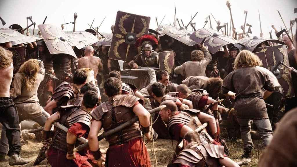 Fotograma de 'La Legión del Águila'.