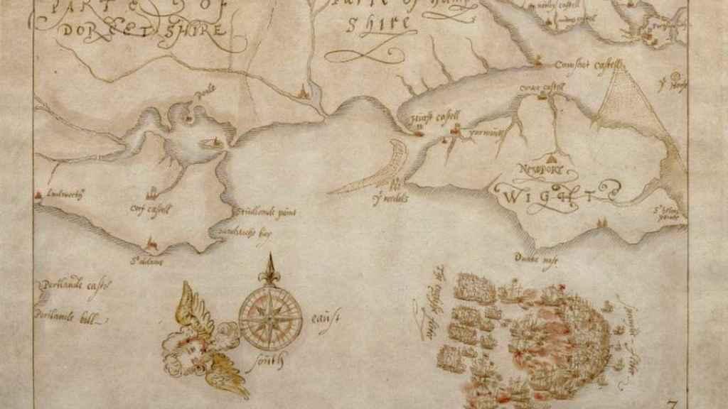 Inglaterra conserva valiosos mapas de Gran Armada gracias al mecenazgo.