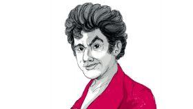 Ilustración sobre José Marchena de la portada de 'Obra francesa'.