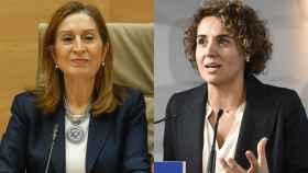 Las exministras Ana Pastor (i) y Dolors Montserrat (d).