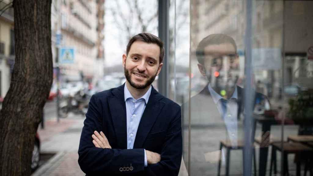David Jiménez Torres atiende a EL ESPAÑOL en vísperas de la publicación de su libro '2017: la crisis que cambió España'.