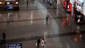 El aeropuerto de Pekín.