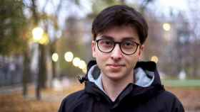 El joven polaco Michal Rogalski.