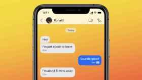 Nuevo diseño de la app de Signal con fondos personalizados
