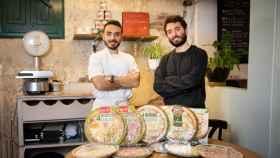 Riccardo (izquierda) y Vittorio Figurato (derecha),  fundadores de las pizzerías Fratelli Figurato.