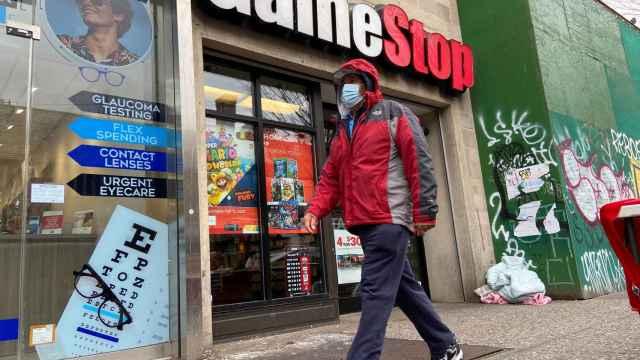 Una tienda de GameStop en Nueva York.