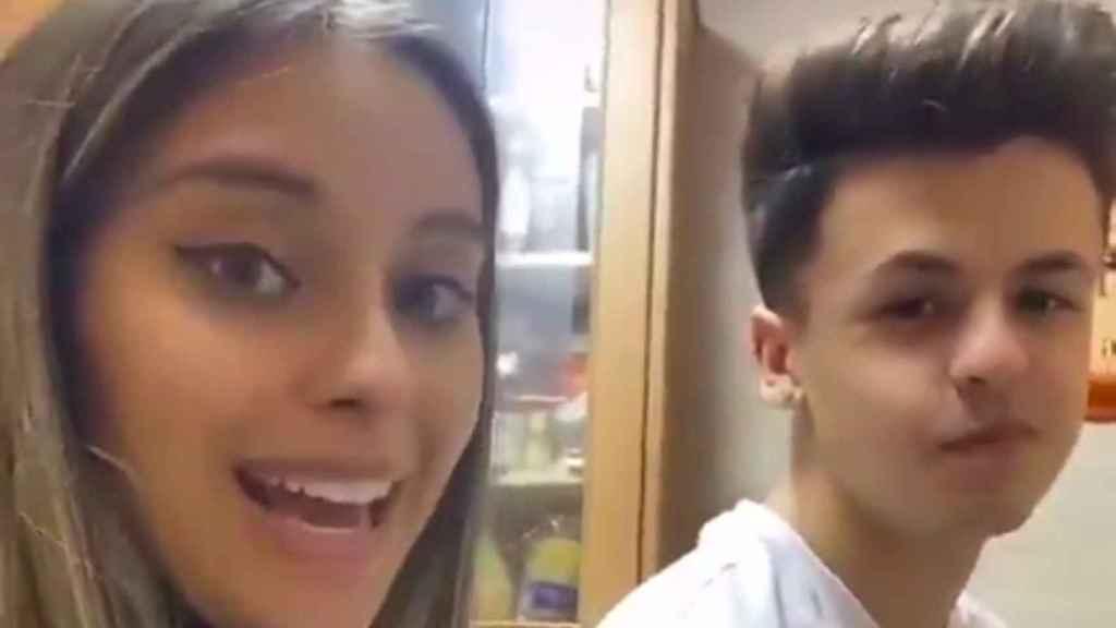 Captura del vídeo de los jóvenes que se ha hecho viral.