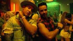 Luis Fonsi y Daddy Yankee en el videoclip de 'Despacito'.