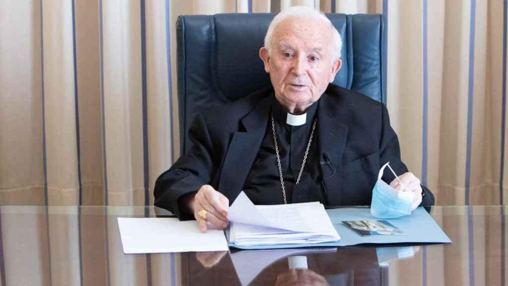 Antonio Cañizares, Arzobispo de Valencia. EE