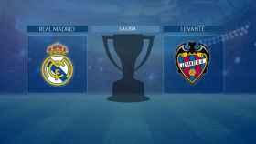 Streaming en directo | Real Madrid - Levante (La Liga)