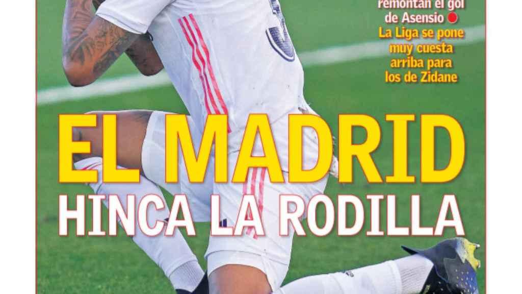 La portada del diario AS (31/01/2021)