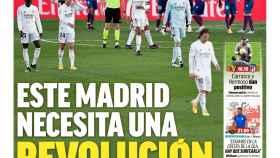 La portada del diario MARCA (31/01/2021)