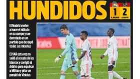 La portada del diario SPORT (31/01/2021)