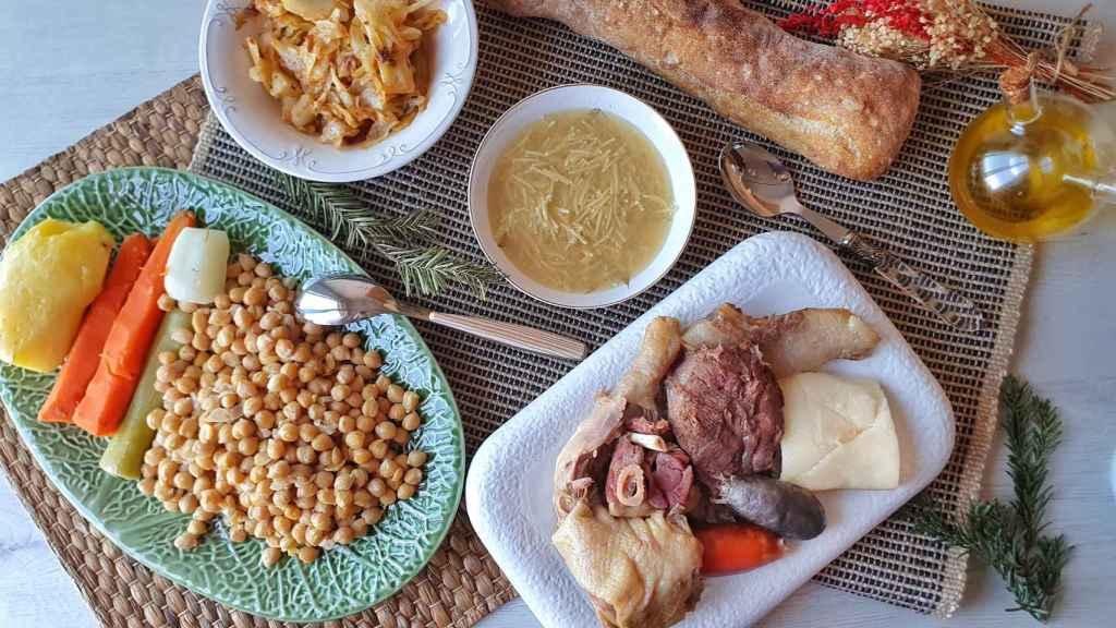El cocido madrileño es un plato milenario