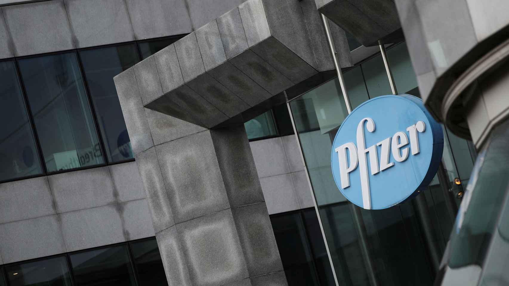 Instalaciones de Pfizer.