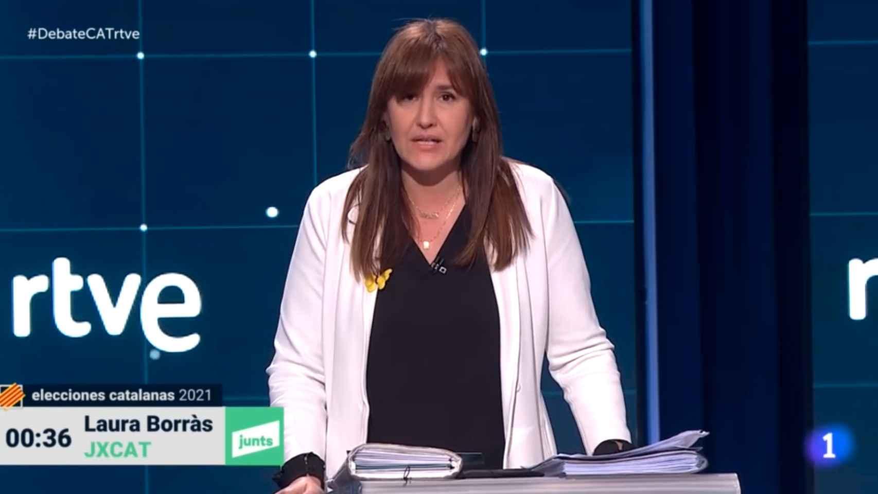 Polémica en TVE por la elección del castellano como idioma del 'Debat' catalán