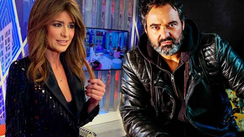 Gema López y su exmarido, Antonio Pardo Sebastián, en montaje de JALEOS.